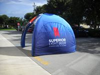 915901492-157 - 11' x 11' Inflatable Event Tent Wall - FULL COLOR PRINT - thumbnail