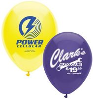"932243788-157 - 11"" AdRite Crystal/ Fun Color Economy Line Latex Balloon - thumbnail"