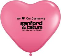 "972007945-157 - 15"" Qualatex Heart Jewel/ Fashion Color Latex Balloon - thumbnail"