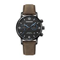 106226343-174 - Metropolitan Chrono Black Dial w/Blue Hands Watch - thumbnail