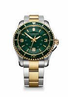 504298923-174 - Maverick Large Green/Gold Dial/Two-Tone Bracelet Watch - thumbnail