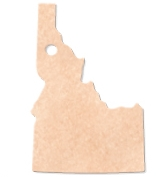 "505802228-174 - 15.5""x9.5"" Epicurean Idaho Shaped Cutting Board - thumbnail"