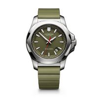 704574032-174 - INOX Large Green Dial/Green Genuine Rubber Strap Watch - thumbnail
