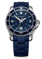 745960616-174 - Maverick Large Blue Dial/Blue Rubber Strap Watch - thumbnail