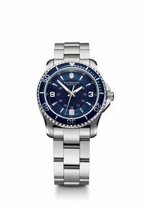 774298916-174 - Maverick Small Blue Dial/Stainless Steel Bracelet Watch - thumbnail