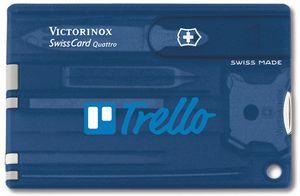 911799932-174 - Swisscard® Translucent Sapphire Blue Quattro Multi-Tool - thumbnail