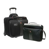 "955073648-174 - Wenger® Patriot 2-Piece Business Set w/Comp-U-Roller & Matching 15.4"" Laptop Case - thumbnail"