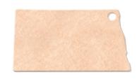 "985802383-174 - 14.25""x8"" Epicurean North Dakota Shaped Cutting Board - thumbnail"
