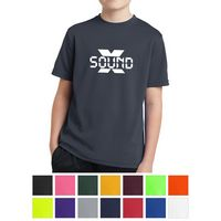 115427884-816 - Sport-Tek® Youth PosiCharge™ RacerMesh® Tee - thumbnail
