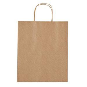 "115760429-816 - Kraft Paper Brown Shopping Bag - 13"" x 17"" - thumbnail"
