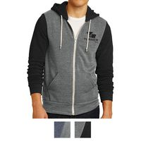 135703336-816 - Alternative® Men's Colorblock Rocky Eco™-Fleece Zip Hoodie - thumbnail
