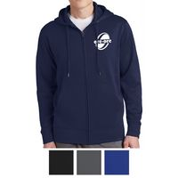 155415286-816 - Sport-Tek® Sport-Wick® Fleece Full-Zip Hooded Jacket - thumbnail