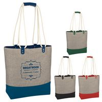 155969593-816 - Scottsdale Heathered Tote Bag - thumbnail