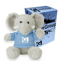 "165013518-816 - 6"" Excellent Elephant With Custom Box - thumbnail"