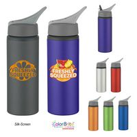 183711807-816 - 25 Oz. Aluminum Bike Bottle - thumbnail