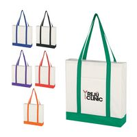 301597304-816 - Non-Woven Tote Bag With Trim Colors - thumbnail