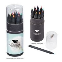 305277832-816 - Blackwood 12-Piece Colored Pencil Set In Tube With Sharpener  - thumbnail