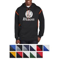 305550473-816 - Sport-Tek® Tech Fleece Colorblock Hooded Sweatshirt - thumbnail