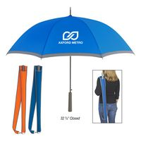 "312864876-816 - 46"" Arc Two-Tone Umbrella - thumbnail"