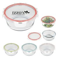 325813858-816 - Fresh Prep Round Glass Food Container - thumbnail