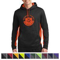 335433064-816 - Sport-Tek® Sport-Wick® Fleece Colorblock Hooded Pullover - thumbnail