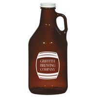 345160997-816 - 32 Oz. Amber Malt Growler - thumbnail