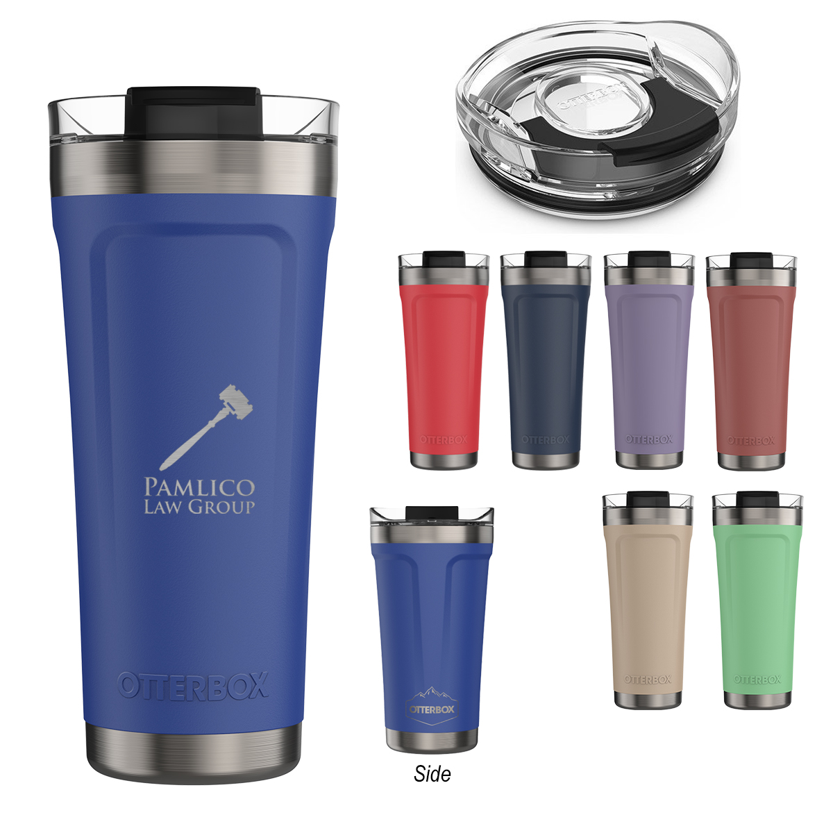 345937940-816 - 20 Oz. Otterbox® Elevation® Stainless Steel Tumbler - thumbnail