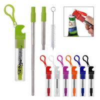 346306813-816 - Straw Kit With Bottle Opener - thumbnail