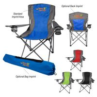 356082157-816 - Two-Tone Folding Chair With Carrying Bag - thumbnail