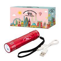 365271010-816 - UL Listed Power Bank Flashlight With Custom Box - thumbnail