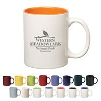 365902730-816 - 11 Oz. Colored Stoneware Mug With C-Handle - thumbnail