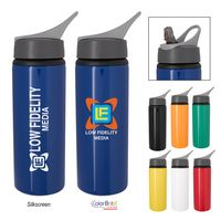 385969605-816 - 25 Oz. Tario Aluminum Bike Bottle - thumbnail