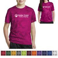 505433057-816 - Sport-Tek® Youth CamoHex Tee - thumbnail