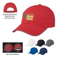 505811336-816 - Reflective Accent Sandwich Cap - thumbnail