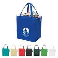 512815369-816 - Non-Woven Insulated Shopper Tote Bag - thumbnail