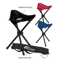 541599268-816 - Folding Tripod Stool With Carrying Bag - thumbnail