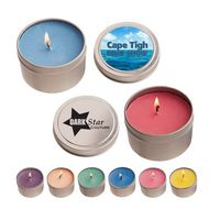 546292466-816 - 4 oz. Candle In Round Tin - thumbnail