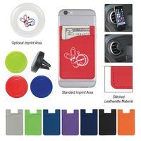 555489943-816 - Magnetic Auto Air Vent Phone Wallet - thumbnail