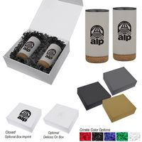 706092800-816 - 16 Oz. Wellington Stainless Steel Tumbler Gift Set - thumbnail