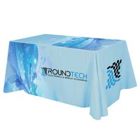 735161012-816 - Flat All Over Dye Sub Table Cover - 4-sided, fits 6' table - thumbnail
