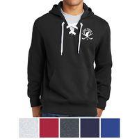 735433060-816 - Sport-Tek® Lace Up Pullover Hooded Sweatshirt - thumbnail