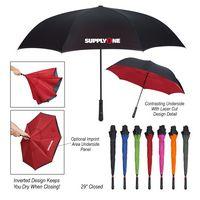"745489971-816 - 48"" Arc Two-Tone Inversion Umbrella - thumbnail"