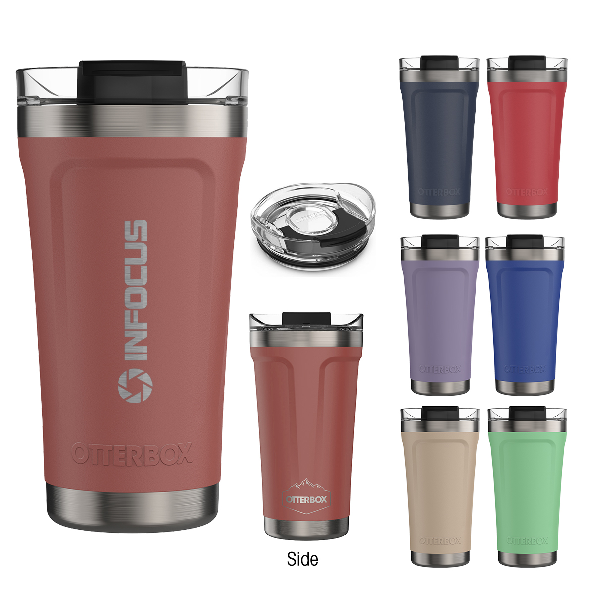 745937941-816 - 16 Oz. Otterbox® Elevation® Stainless Steel Tumbler - thumbnail