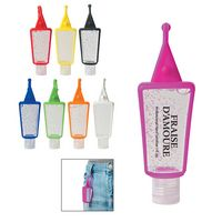 783729721-816 - 1 Oz. Hand Sanitizer In Silicone Holder - thumbnail