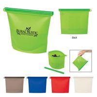 785802984-816 - Reusable Food Bag With Plastic Slider - thumbnail