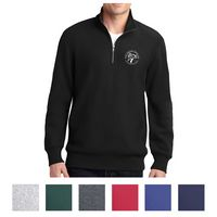 795437243-816 - Sport-Tek® Super Heavyweight 1/4-Zip Pullover Sweatshirt - thumbnail