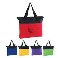902565122-816 - Non-Woven Zippered Tote Bag - thumbnail