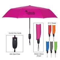 "915178202-816 - 42"" Arc Telescopic Wave Umbrella - thumbnail"