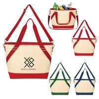 915355714-816 - Canvas Cooler Tote Bag - thumbnail
