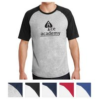 915409066-816 - Sport-Tek® Short Sleeve Colorblock Raglan Jersey - thumbnail